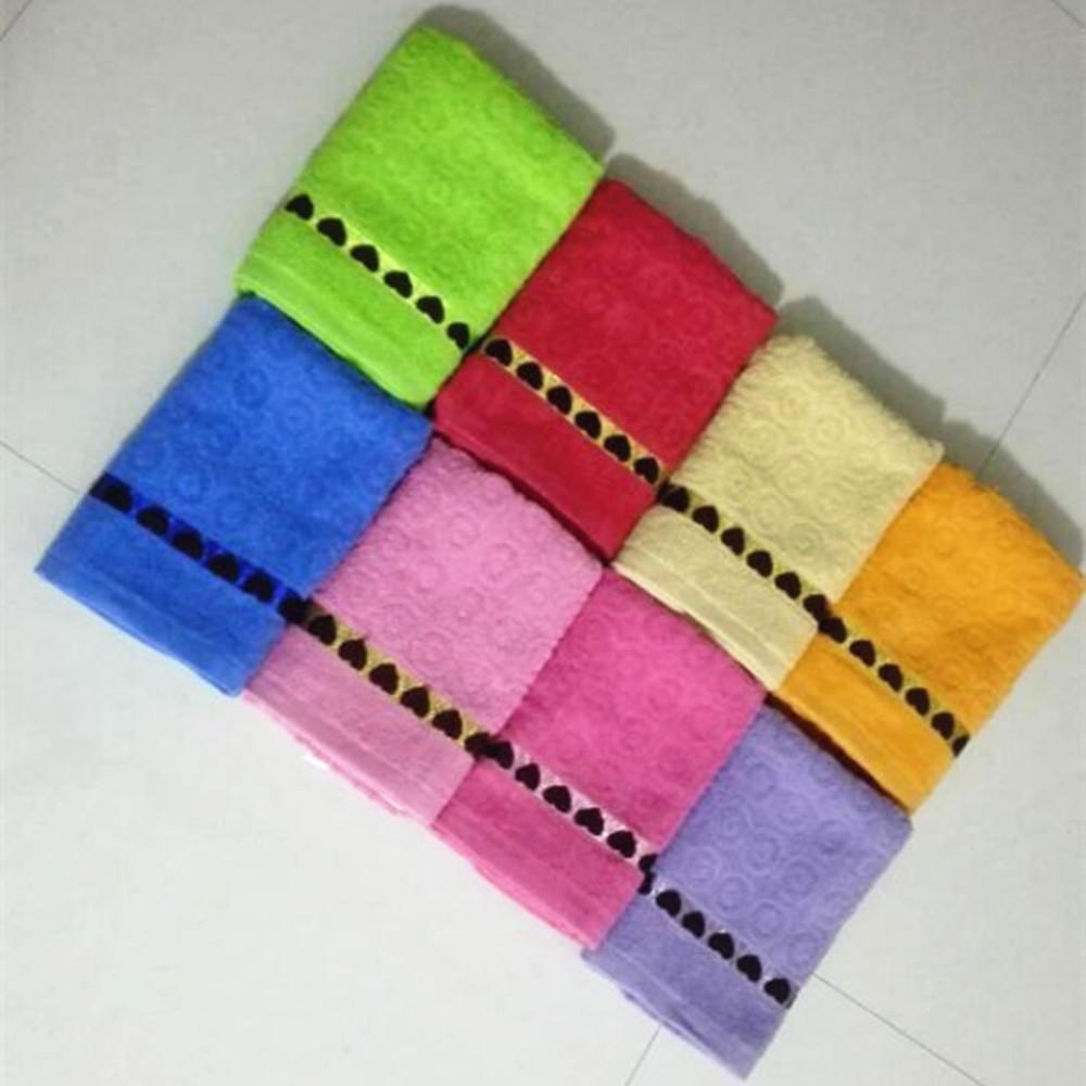 cheap promotion 100 cotton bath towels