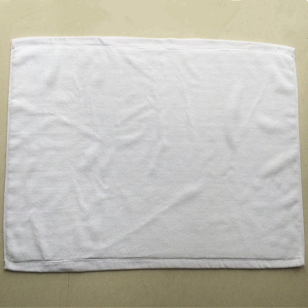 Plain White Cotton Bath Mat Floor Towel