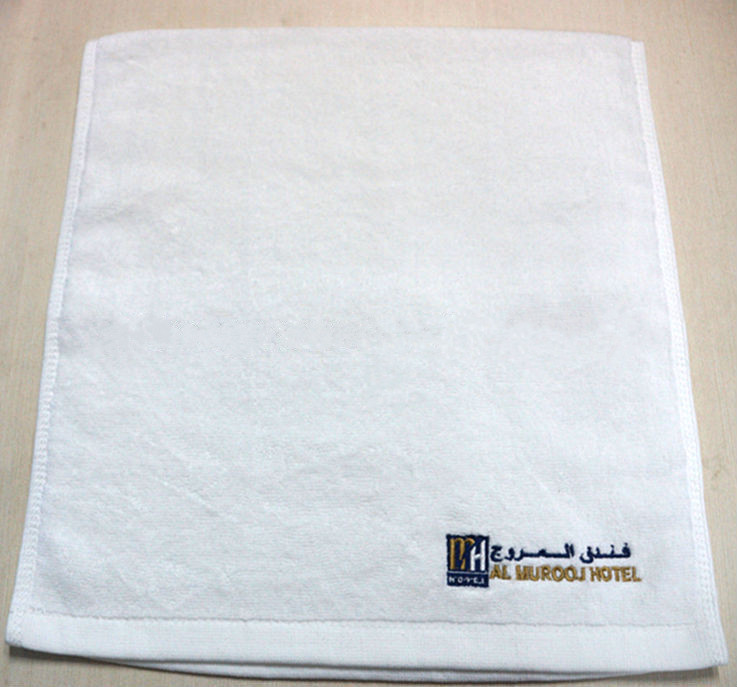 White hotel embroidery face towel hand towels for How to get towels white